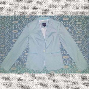 The Limited light blue blazer sz xs